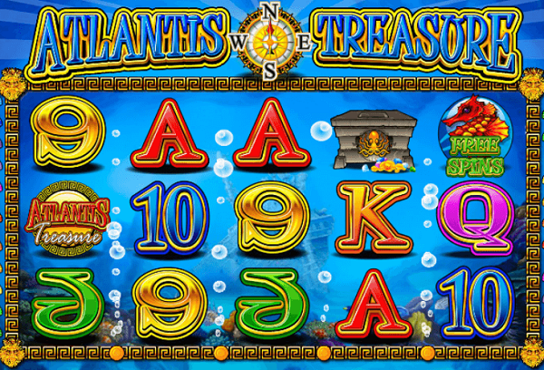 Play Atlantis Treasure Online Slot with Guide